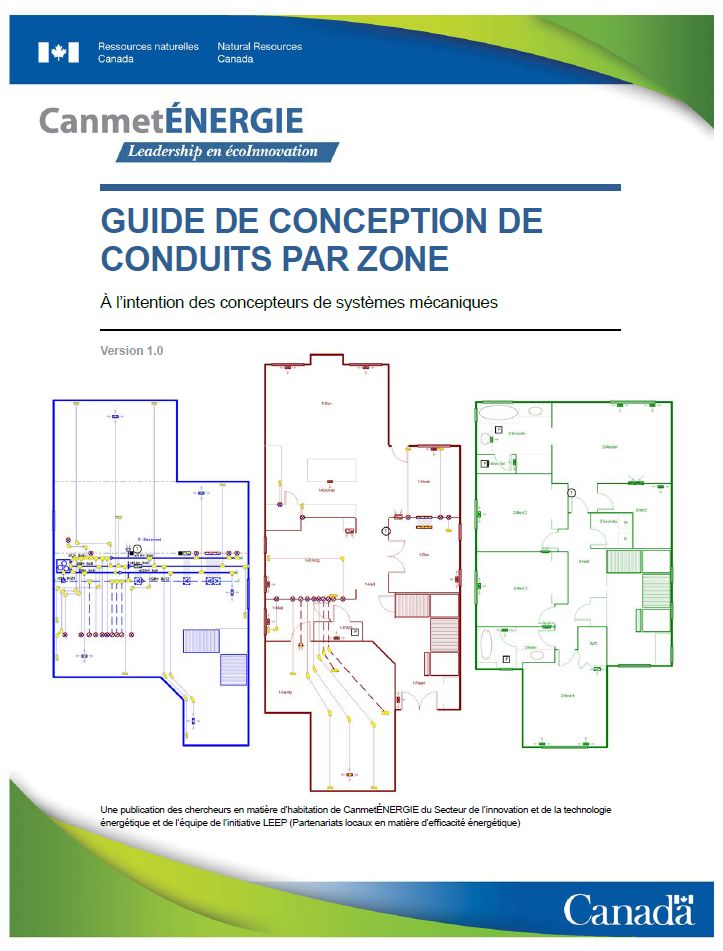 Guide de conception de conduits par zone