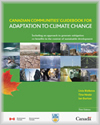 Page couverture du guide intitulé « Canadian Communities' Guidebook for Adaptation to Climate Change »