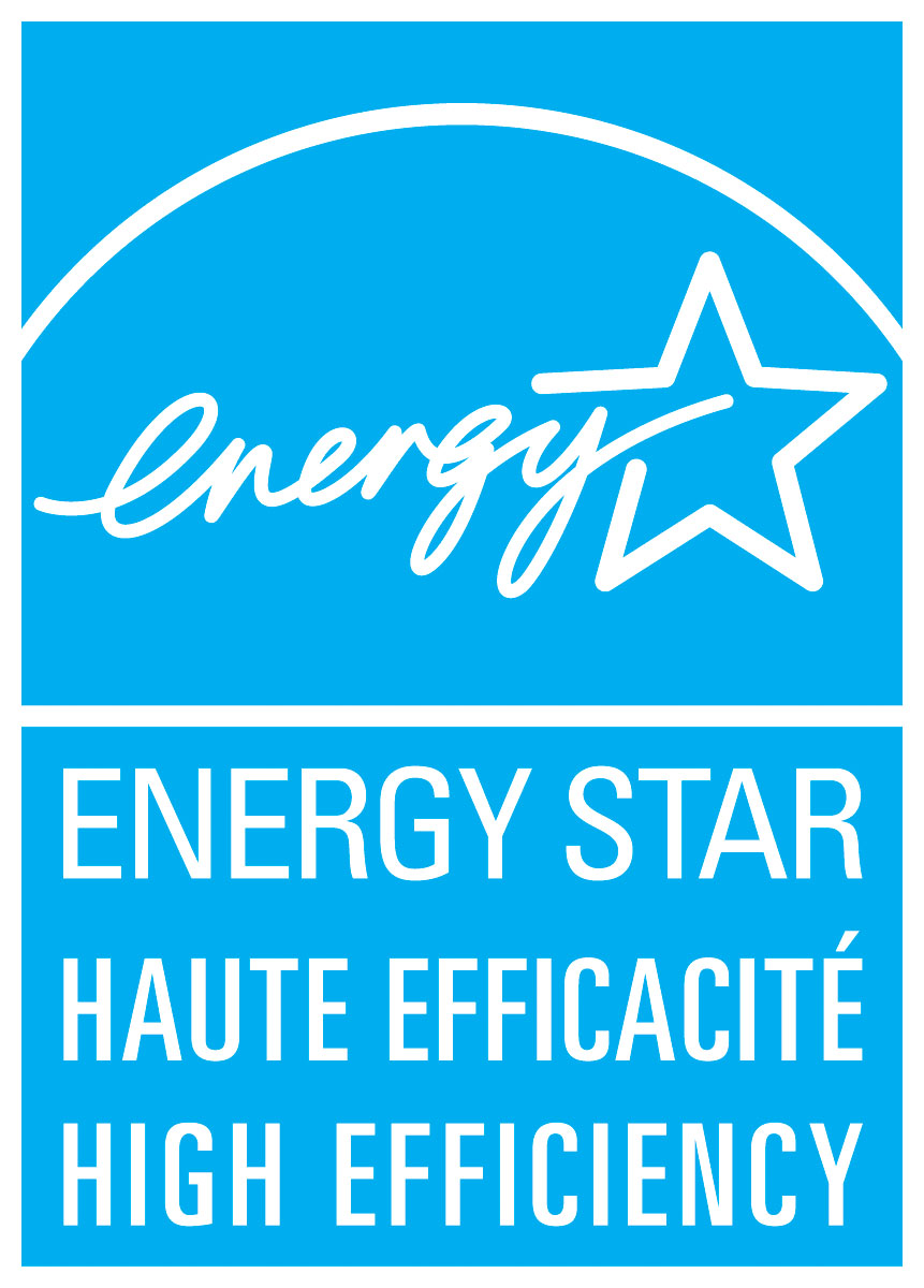 ENERGY STAR HAUTE EFFICACITÉ HIGH EFFICIENCY