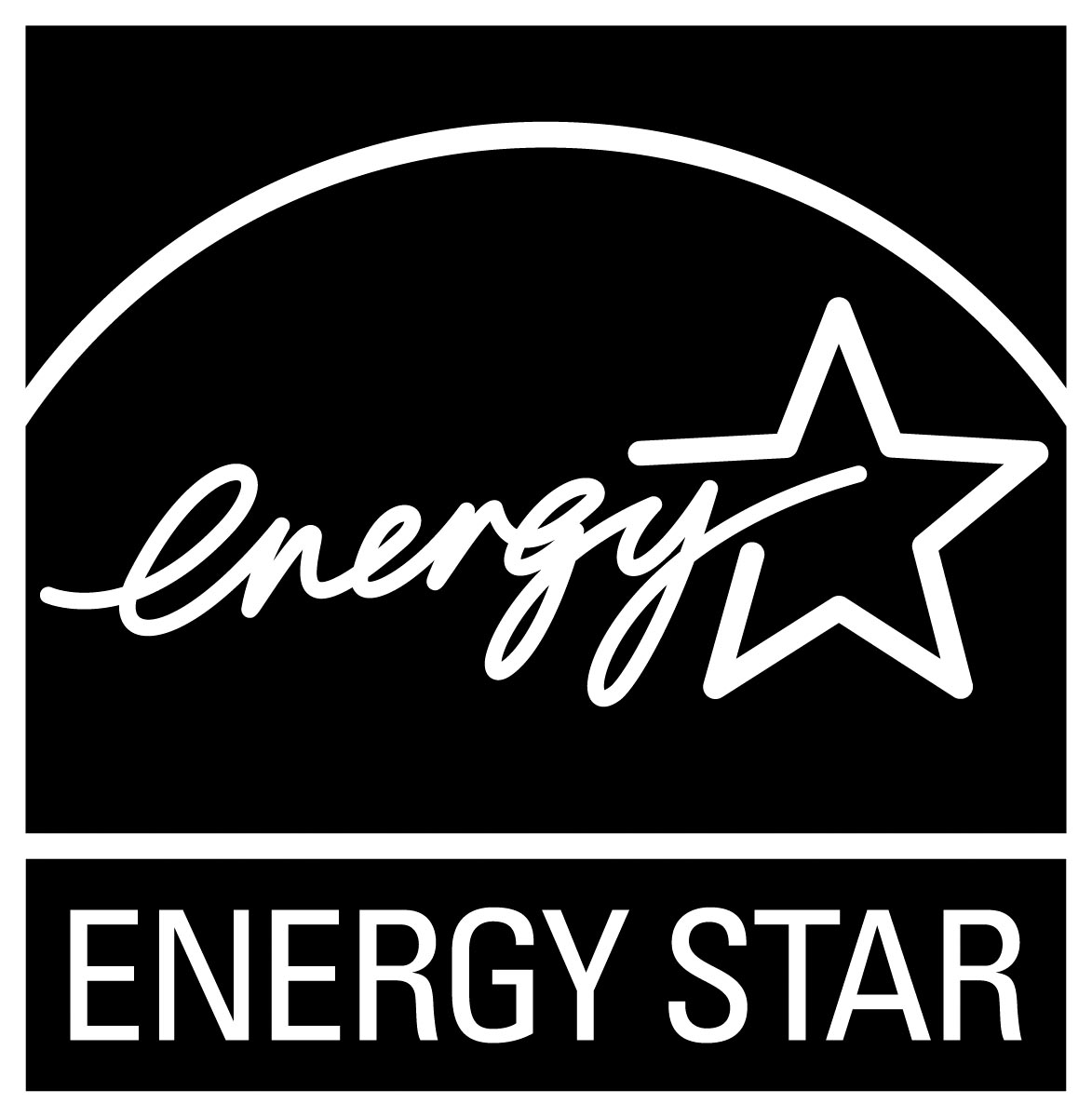 ENERGY STAR symbol - noir