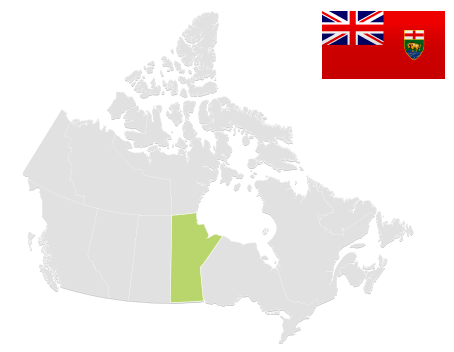 Map of MB
