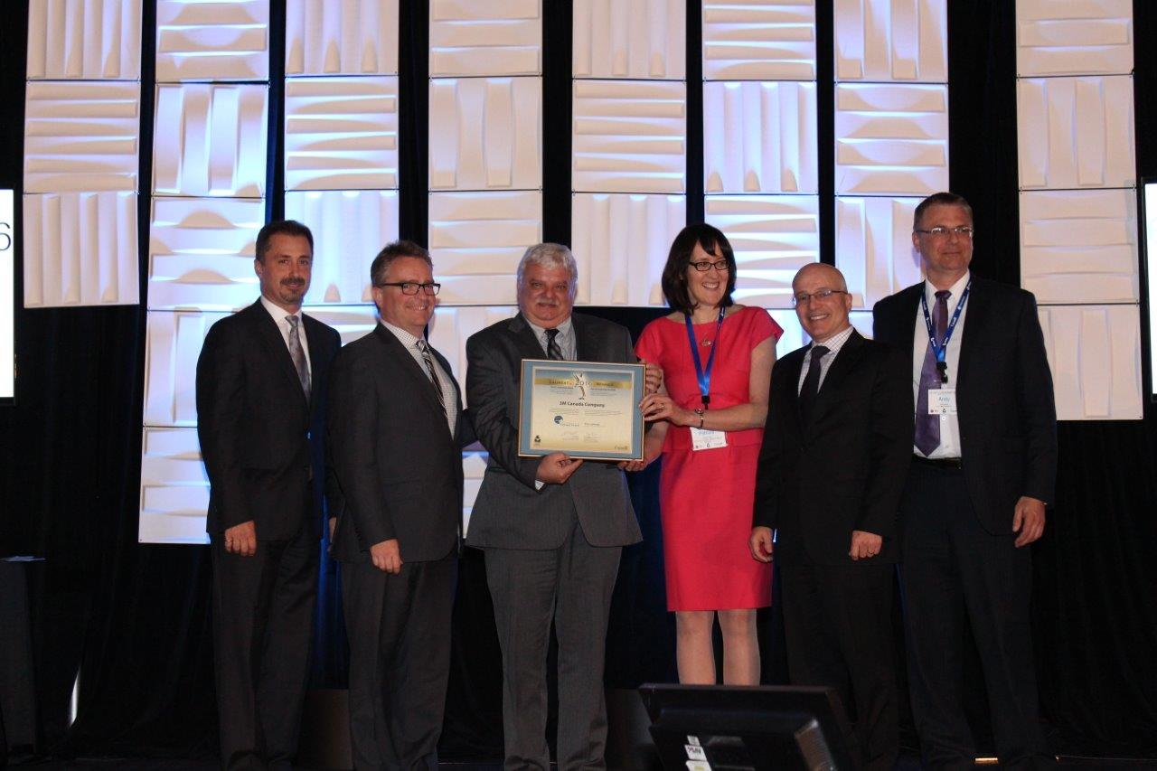 Picture of 3M Canada – Brockville winner of the Employee Awareness and Training Award