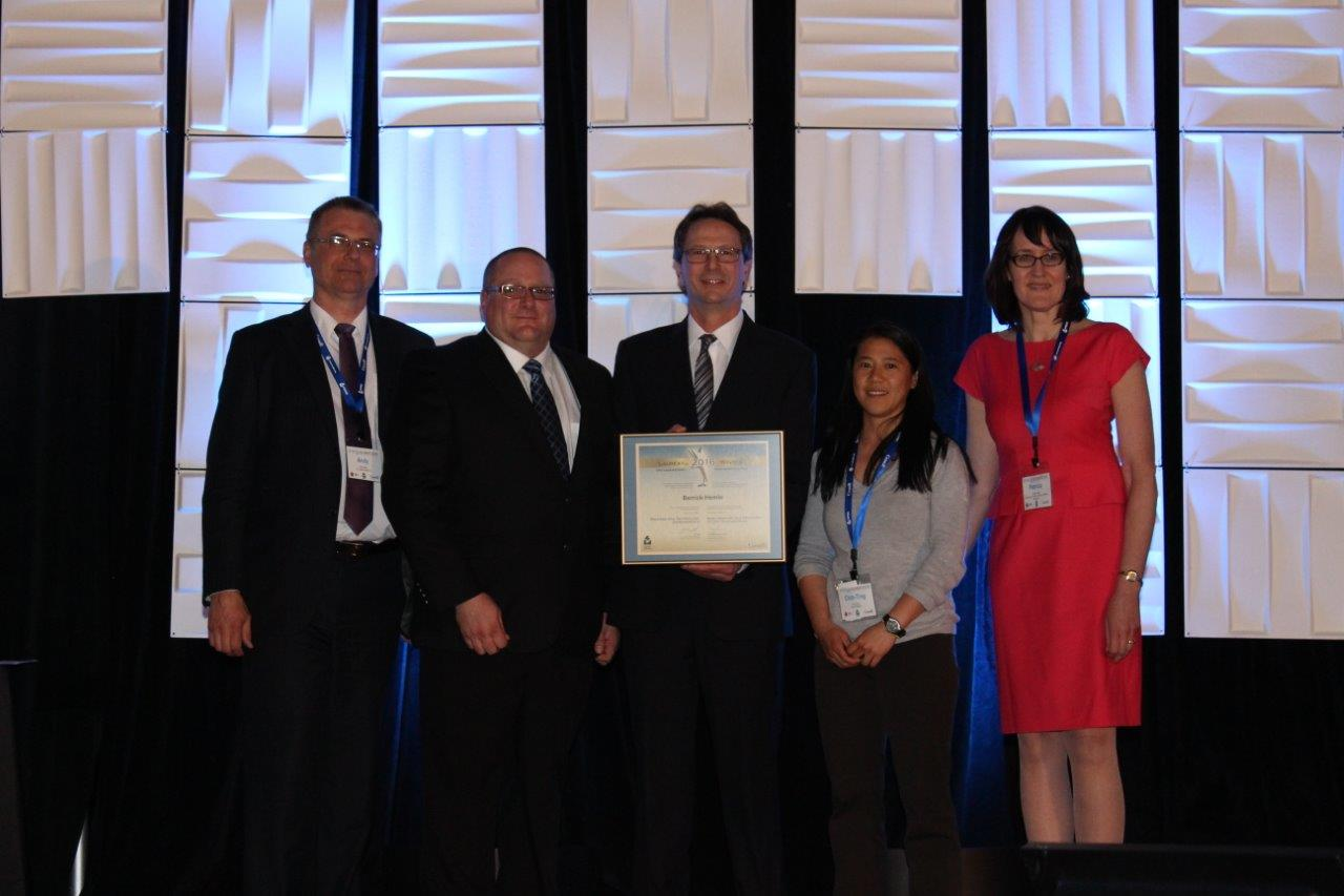 Picture of Barrick-Hemlo winner of the Process and Technology Improvement Award