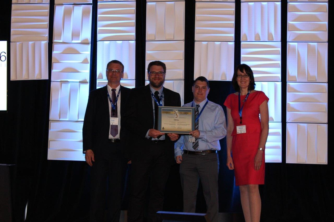 Picture of CAE inc. winner of the Process and Technology Improvement Award