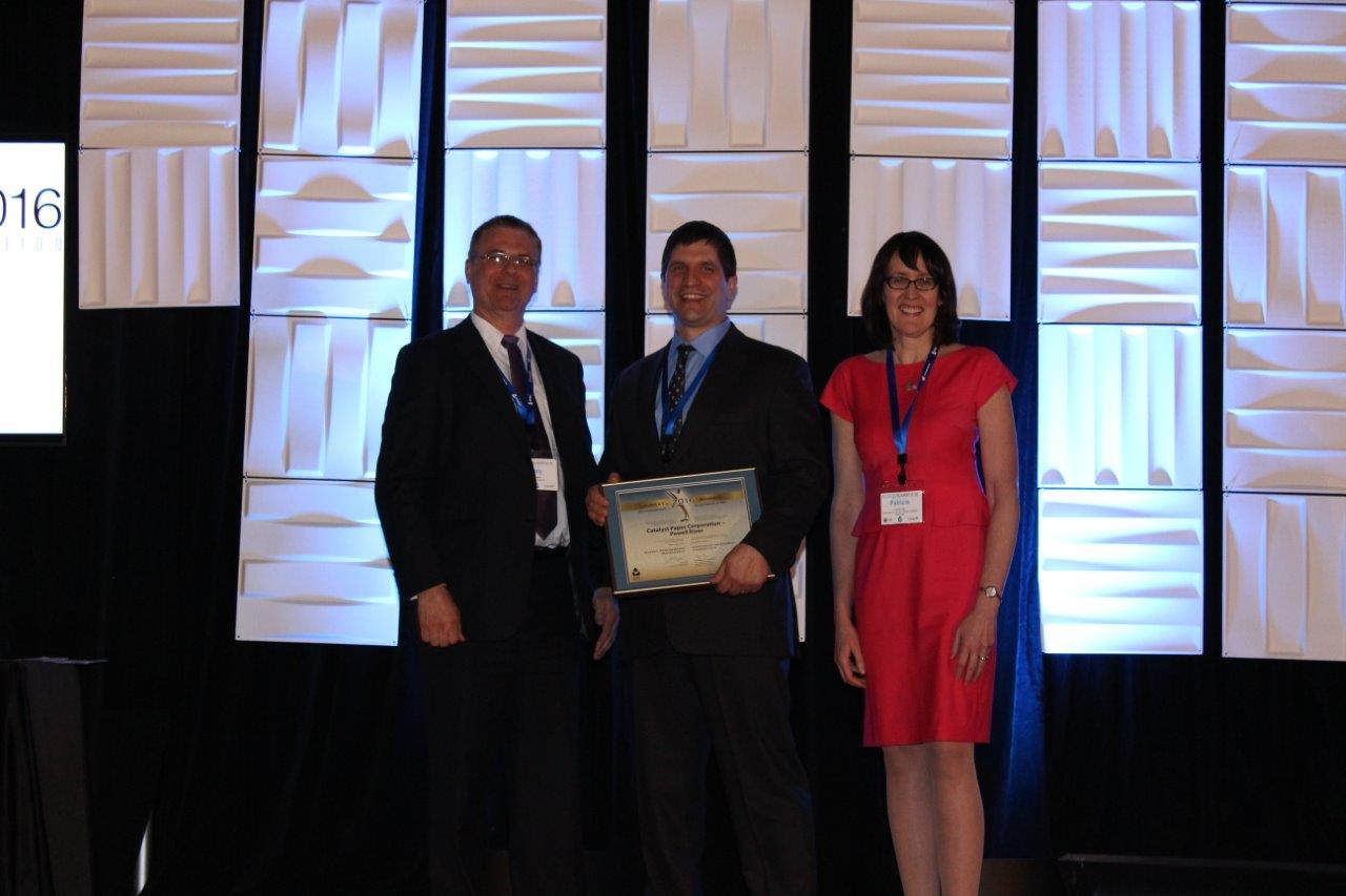 Picture of Catalyst Paper – Powell River winner of the Energy Performance Management Award