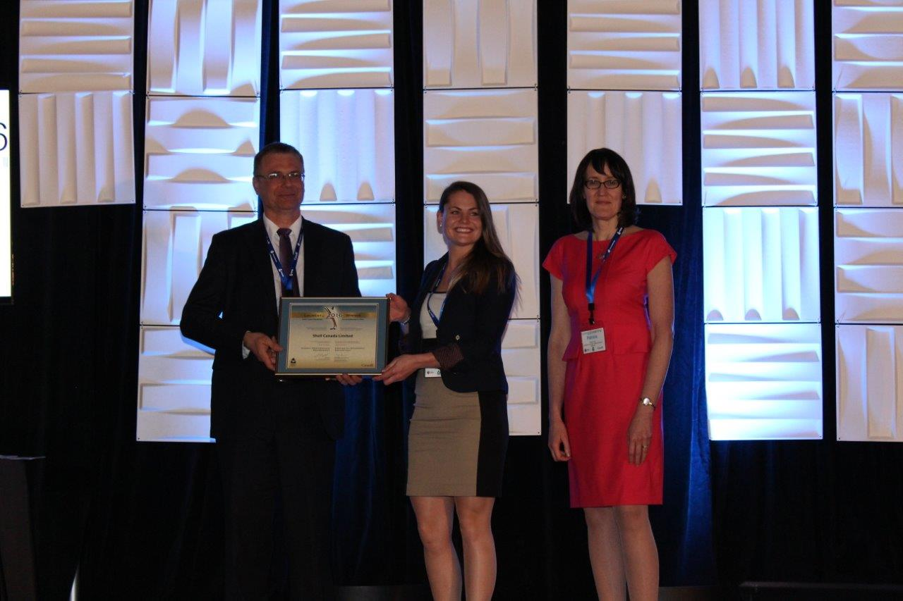 Picture of Shell Canada Limited winner of the Energy Performance Management Award