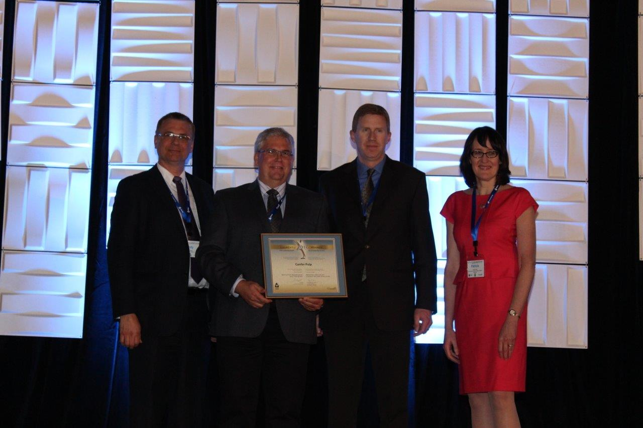 Picture of Canfor Pulp Limited winner of the Employee Awareness and Training Award