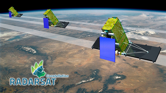 photo de RADARSAT