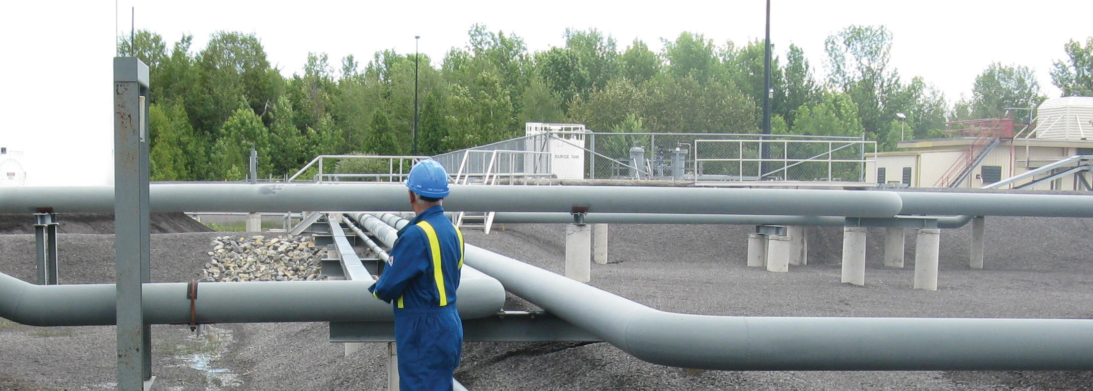 Image d'inspection de pipelines par Trans-Northern Pipelines Inc. (TNPI)